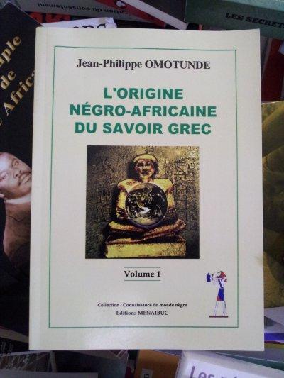 L'origine négro-africaine du savoir grec