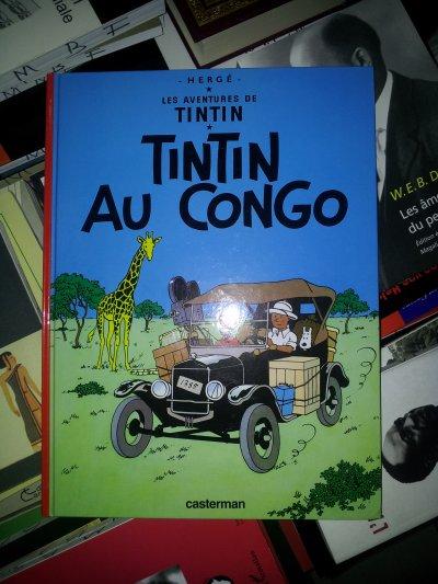 Tintin au Congo...