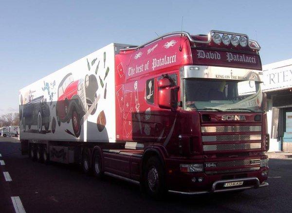 Le Scania Longline de chez Patalacci.