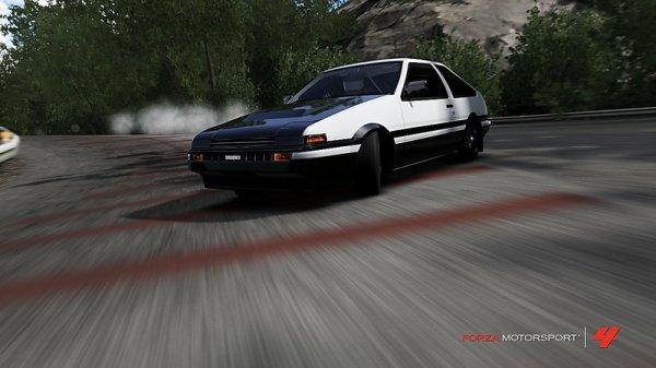 Toyota Sprinter Trueno AE85