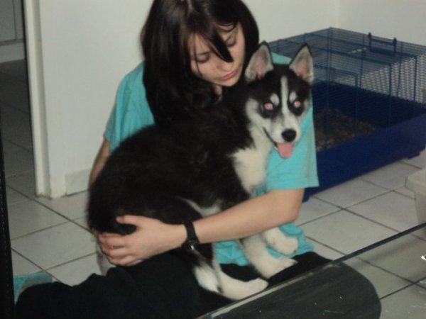 Sirio dans sa nouvelle famille!!!
