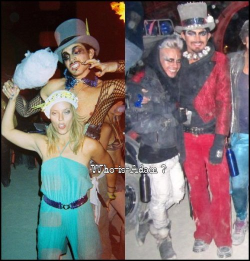 Adam & Sauli au Burning Man Festival