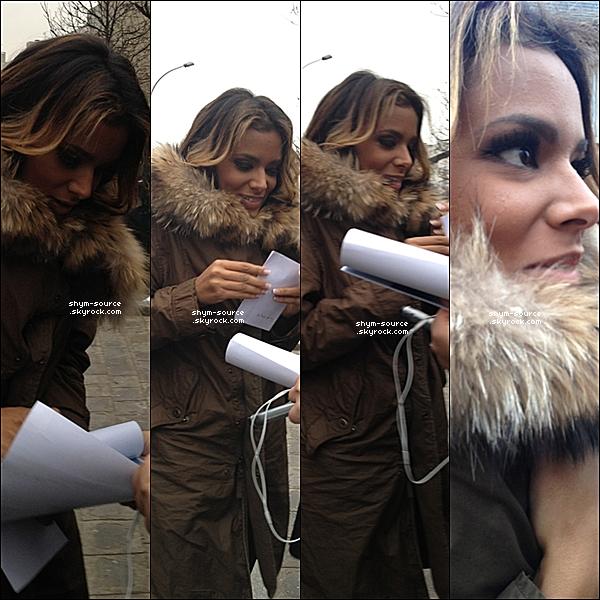 - 30 / 01 / 12 : Shy'm est actuellement en plein enregistrement de « Chabada spécial St Valentin », voici quelques photos à son arrivée au studio. « Chabada Spéciale Saint-Valentin: les plus belles chansons d'amour en duo » sera diffusé le 12 février 2012 à 17h00 sur France 3! -