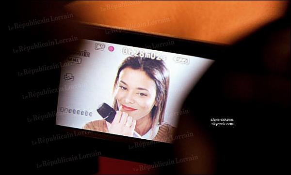 - VIDEO • INTERVIEW : Shy'm se met à nu devant les lecteurs du République Lorrain . -