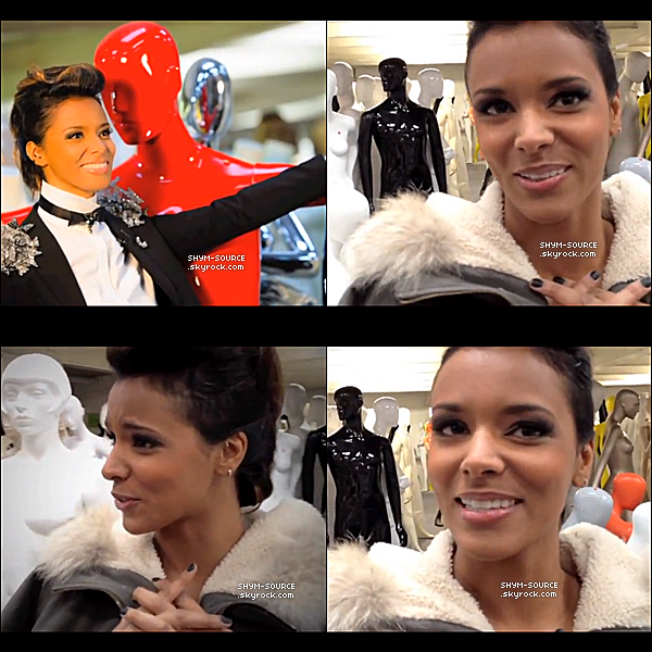 "- VIDEO & PHOTOS ● Shy'm présente ""Collections Printemps été"" ● Interview -"