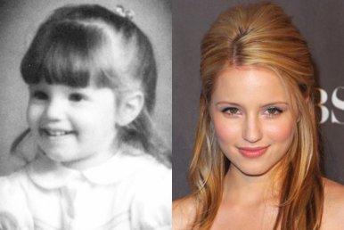 """J'ai trouvé des photos de nos acteurs """"Glee quand ils étaient jeune sur un site américain :) Voici les photos (partie 2)"""