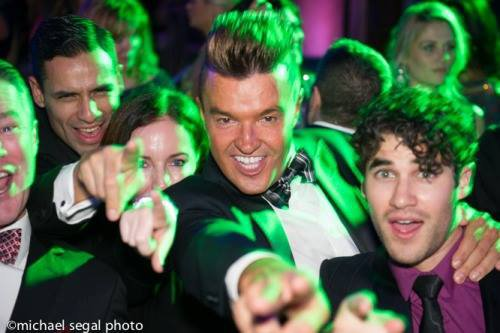 Photo de Darren au mariage de Lance Bass :)