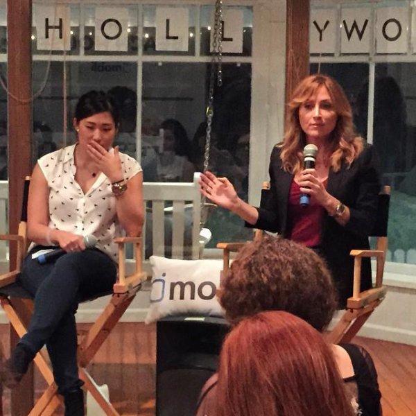 Jenna était mercredi au TakeHollywood panel :)