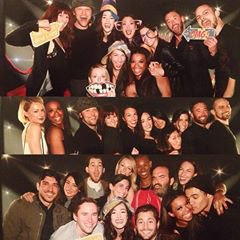 Photos de la Glee Wrap party d hier soir :)