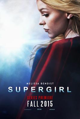 Voici enfin l'affiche officielle de Supergirl la nouvelle série de Melissa :)
