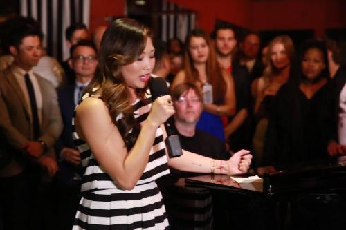 Hier soir à eu lieu l'inauguration de la fondation de Jenna the Kindred Foundation avec la présence de Becca, Alex, Amber et Vanessa :)