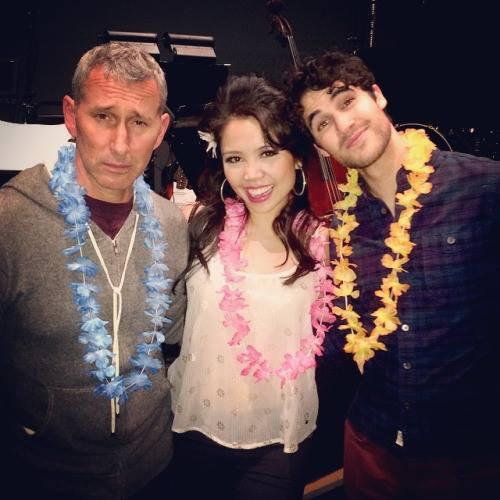 Darren a été voir jeudi soir Honeymoon in Vegas :)
