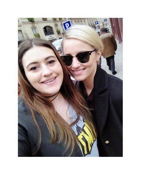 Diana est des fans à Paris :)