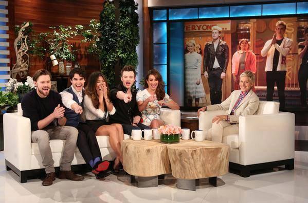 Vidéos de Chord Lea Jenna Darren et Chris sur le plateau de The Ellen DeGeneres Show