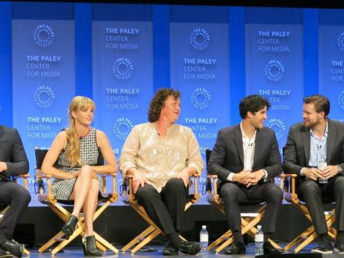 Photos pendant le Panel du Paley Fest hier :)