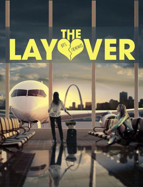 Affiche de The Layover avec Lea et Kate Upton :)