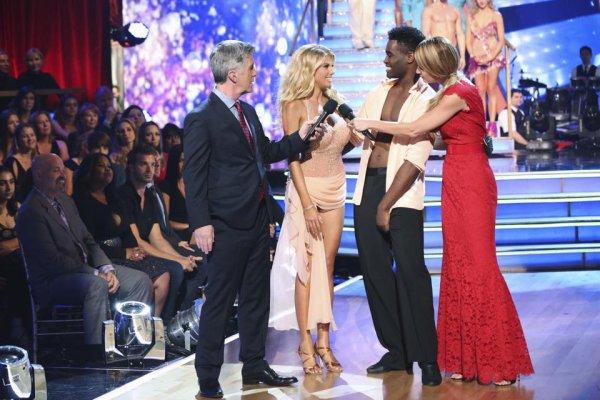 Amber invité sur le plateau de danse avec les stars :)