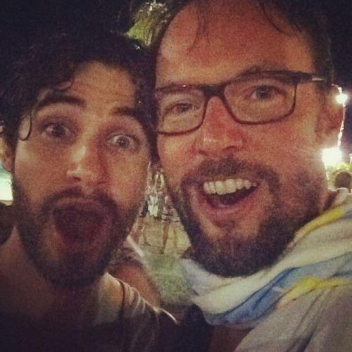 Darren et un fan à Disneyworld. :)