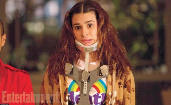 Lea en scream queens :)