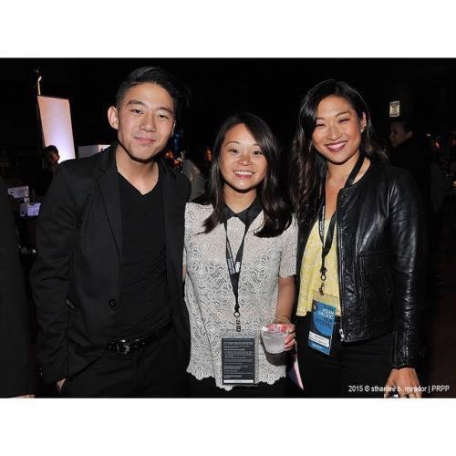 Jenna était jeudi au Asian Pacific Film Festival de LA pour présenter Twinsters :)