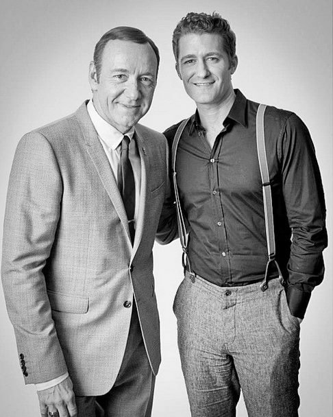 Matthew avec Kevin Spacey :)