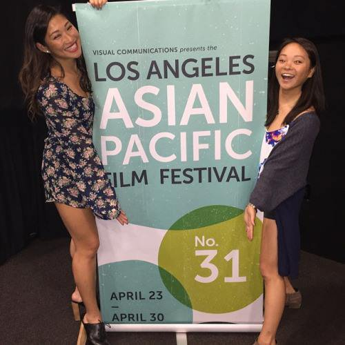 Jenna remercie le The Los Angeles Asian Pacific Film Festival pour la projection de Twinsters :)
