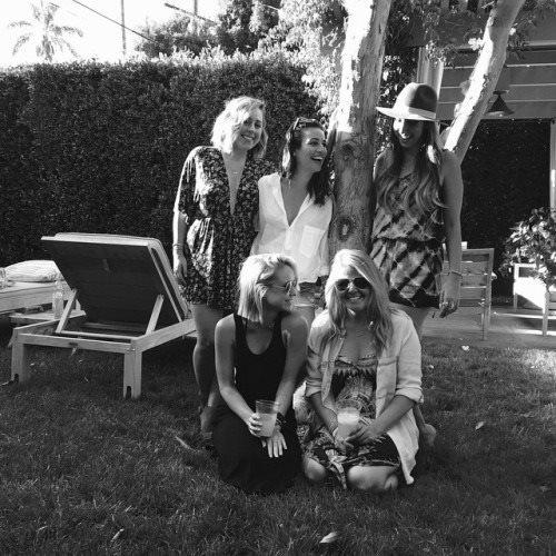 Lea et Becca étaient ensemble ce week avec des amies dernier :)