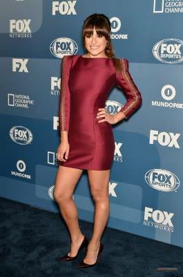 Lea était hier aux Fox Upfronts présenter Scream Queens :)