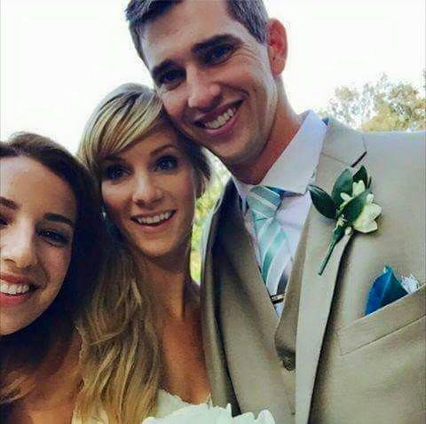 Mariage d'Heather, qui s'est déroulé hier :)