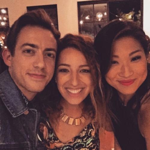 kevin, Vanessa et Jenna le 31 mai :)