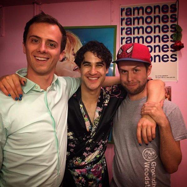 Darren en compagnie de Joe Moses et Tessa Netting.(31/05/15) première photo :)