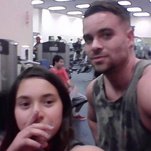 Mark avec des fans à la gym, il y 2 jours :)