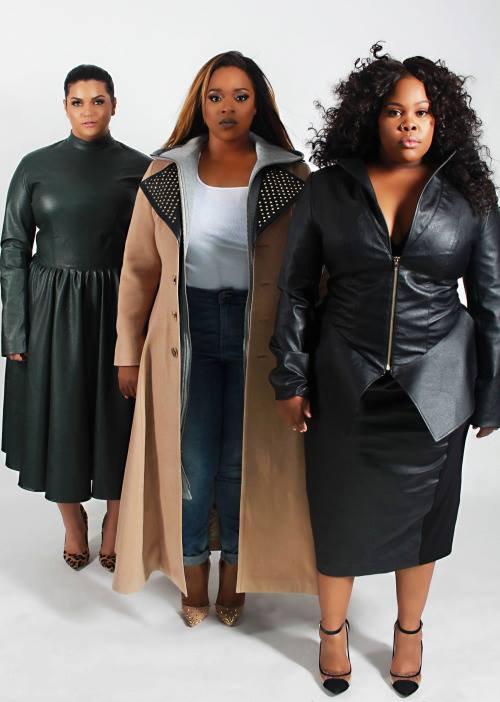 Amber égérie de la ligne de vêtements, pour les femmes rondes, de la chanteuse gospel Kierra Sheard :D <3