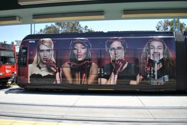 Promo de Scream Queens dans la ville de San Diego :)