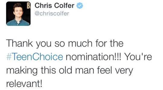 Twitte de Chris :)