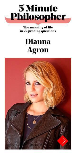 Dianna dans Stylist Magazine :)