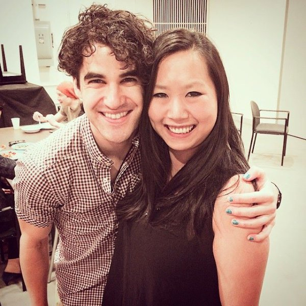 Darren, ses parents et son assistante sont allés voir le spectacle The King And I (25/06/15)