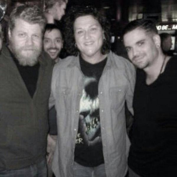 Nouvelle photo de Mark avec Dot et Michael Cudlitz (24/06/15)