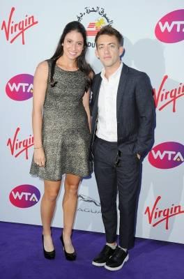 Kevin et Christina McHale aux WTA Pre-Wimbledon Party (27/06/15)