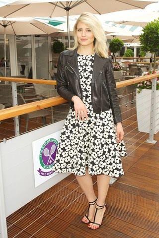 Dianna hier a la party de Ralf Lauren + GQ a Wimbledon le 3 juillet :)