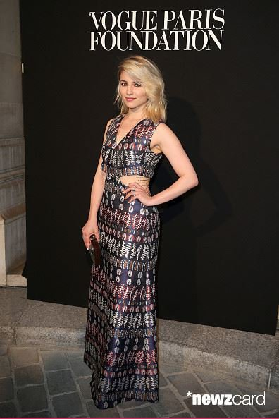 "Dianna au ""Vogue Paris Foundation Gala"" le 6 juillet :)"