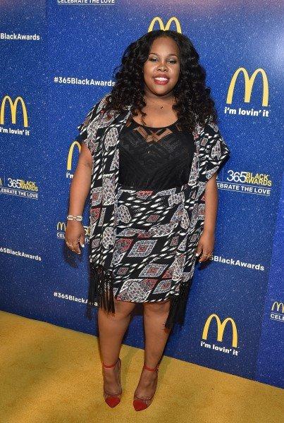 Amber était vendredi dernier aux 365 Black Awards :)
