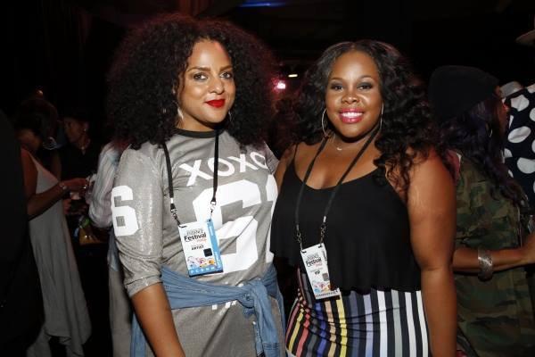 Amber était samedi dernier au Essence Music Festival :)