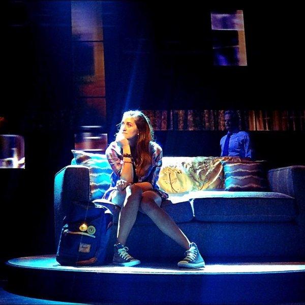 Laura dans la pièce Dear Evan Hansen :)