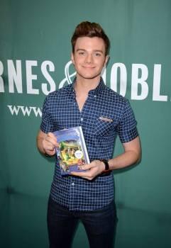 """Chris était hier en promo au Barnes & Noble, Union Square de NYC pour """"The Land of Stories: Beyond the Kingdoms (08/07/15)"""