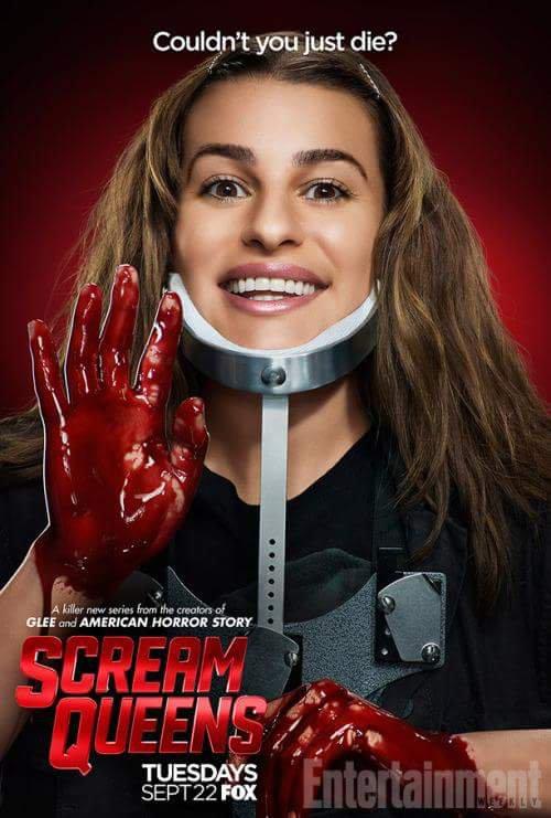 Nouvelle image promotionnelle de Lea Michele pour Scream Queens ;)
