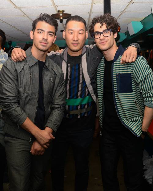 Darren était hier soir au diner de célébration de NYFW Men's in New York City :)