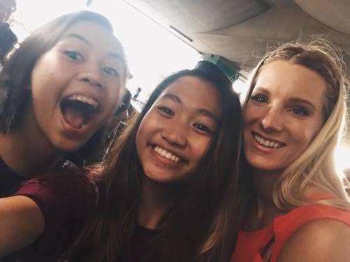 Heather et des fans la semaine dernière :)