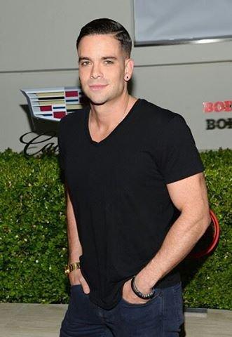 Mark à une soirée aux Milk Studios à Hollywood, le 14 juillet :)