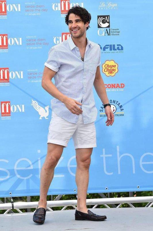 Darren était cet après midi au festival du film Giffoni qui se tient en Italie le 24 juillet.:)